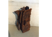 2002 - Reixa per espies - iron recycling and wood (30x18x16)