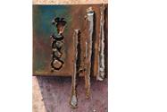 1996 - Cauen gotes (22x16x4)