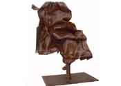 2000 - El paper - hierro reciclado (110x90x40)