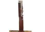 2004 - Ineptes desitgos d'ahir - hierro y bronce (165x30x20)