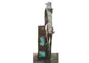2004 - El teu demà esta indicat - iron and bronze (180x70x24)