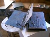 1996 - Llibre primer - hierro (38x24x10)