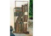 1999 - Llibreria hon - ferro i fusta (101x54x16)