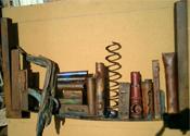 2003 - Moltes histories - ferro i altres materials (75x44x10)