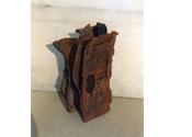 2002 - Reixa per espies - ferro reciclat i fusta (30x18x16)