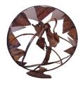2004 - Mandala de la tardor - iron recycling (172x172x80)