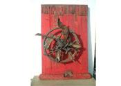 2008 - El perill dels sentiments - fusta i ferro (70x50x15)