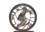 2004 - El viatge infinit - ferro i bronze (55x53x10)