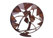 2004 - Mandala de la tardor - ferro reciclat (172x172x80)