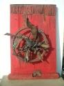 2008 - El perill dels sentiments - madera y hierro (70x50x15)