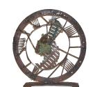 2004 - El viatge infinit - hierro y bronce (55x53x10)