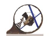 2004 - Finestra d'ànima - hierro reciclado y madera (35x45x12)